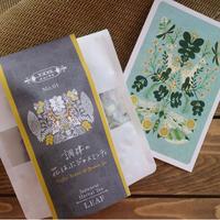 #1 調律の花はぶジャスミンティ(リーフ20g、ポストカード付)