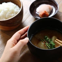 【recipe】即席!ウコン味噌汁/ Turmeric miso soup