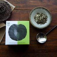 八代の日本古来のはすの葉茶/ティバッグ 10個入り