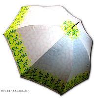 UVカット99% 傘専門店 通販 東京 日傘 雨傘 晴雨兼用 ワンタッチ ジャンプ サビにくい 旅傘 【おしゃれ傘  Leaf Silhouette Pink】
