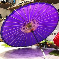 【和紙 蛇の目傘】傘専門店 通販 東京 折りたたみ傘  レディース メンズ 旅傘【無地 紫】