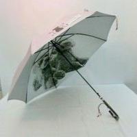 傘専門店  通販  東京  日傘  雨傘  晴雨兼用  遮光 遮熱 ワンタッチ  ジャンプ  黒骨  サビにくい 旅傘  【シルバーコート 5匹アメリカンショートヘア   】