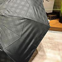 【折 自動開閉シリーズ】55㎝ 傘専門店 通販 東京 折り畳み 旅傘【Checklage Black】