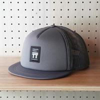 【NEW BODY】T2 Runners Cap Black Tag_Gray