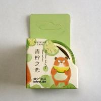 中国マスキングテープ「青檸之恋」