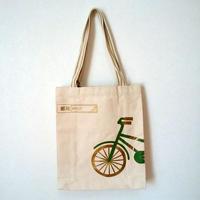 【中華郵政】キャンバストートバッグ(自転車)