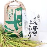 令和元年産 農薬不使用米コシヒカリ 玄米 5kg