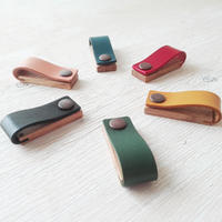 code clip -木と革のコードクリップ- オーク6色