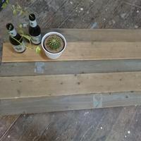 古木テーブル・キャスター仕様