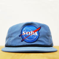 NYLON CAP SOBA( Ice blue )