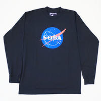 LONG SLEEVE TEE 6.5oz  SOBA(Black / Original)