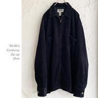 90-00's Corduroy Zipシャツ
