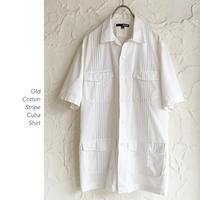 Old Cotton キューバシャツ