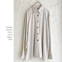 Old Linen Rayonシャツ