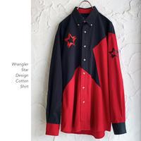 Wrangler Star Designコットンシャツ