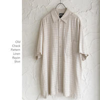 Old Linen&Rayonシャツ