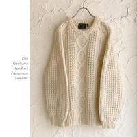 Old Handknit Fishermanセーター