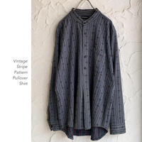 Vintage Stripe Patternプルオーバー