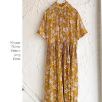 Vintage Flower Patternワンピース