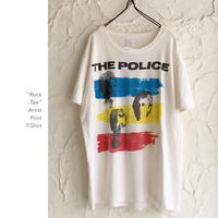 The POLICE Artist Print Tee