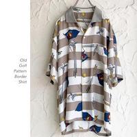 Old Golf Pattern シャツ