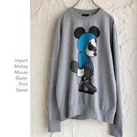 """Skater Mickey"" Printスウェット"