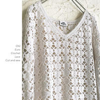 Euro Crochet Laceカットソー