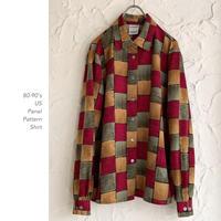 80-90's US Patternシャツ