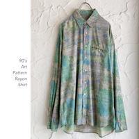 90's Art Patternシャツ