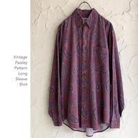 Vintage Paisley Pattern シャツ