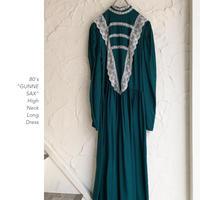 80's GUNNE SAX Long Dress