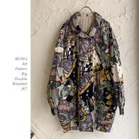 【OUTLET】80-90's Art PatternビッグJKT