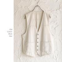 Old Cotton ワークベスト