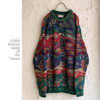 COOGI 3D Knit セーター