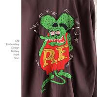 Embroidery Designワークシャツ
