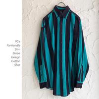 90's Panhandle Slimコットンシャツ