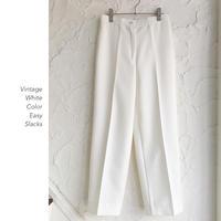 Vintage White イージースラックス