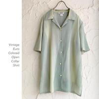 Euro Vintage Open Collarシャツ