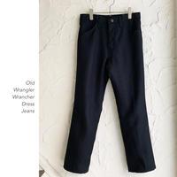 Old Wrangler Wrancher Dress Jeans
