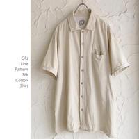 Old Silk Cottonシャツ