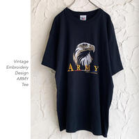 Vintage Embroidery ARMY Tee