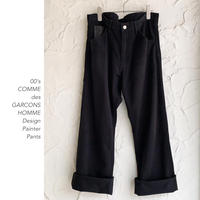 00's COMME des GARCONS HOMME ペインターパンツ