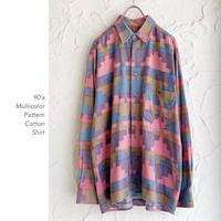 90's Designコットンシャツ