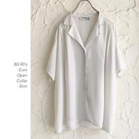 80-90's Euro Open Collarシャツ