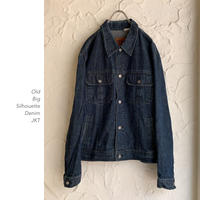 【OUTLET】Big Silhouette デニムJKT