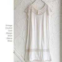 Vintage Crochet Laceワンピース