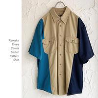 3colors Remake Cottonシャツ