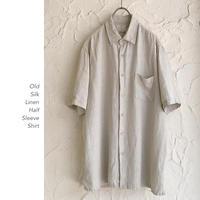 Old Silk Linen シャツ