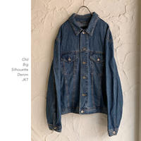 【OUTLET】 Big Silhouette デニムJKT