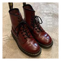 "Dr.Marten's 1460 ""CHERRY RED"" 8EYE ブーツ"